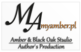 Amber & Black Oak Studio